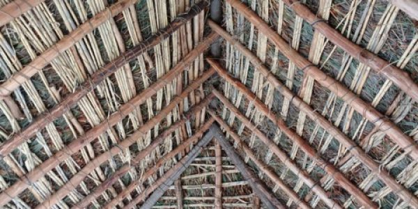 The workshop's flamenco retardant roof....not!..